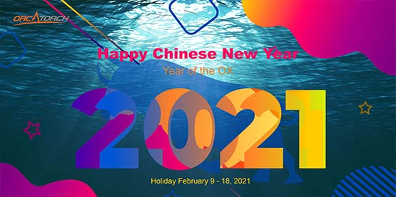 Notice of Chinese New Year Holiday 2021